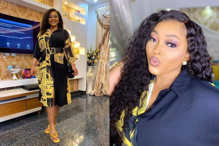 You No See Money Subscribe DSTV?' - Instagram Users Troll Mercy Aigbe Over New Photo
